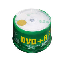 Banana d9 DVD-R 8.5G Blank Burning Disc DL Disc 10 50 Barrel DVD Blank Discs.