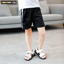 Left West boys summer pants 2019 New childrens shorts sports casual pants in the big boy pants Korean version of the tide