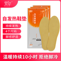 Grass self-heating insole warm foot stick foot sole warm foot paste winter men and women heating insoles free of charge can walk