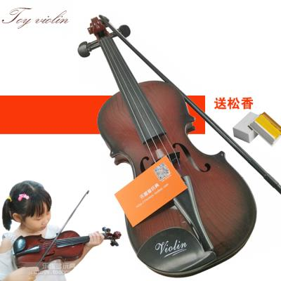 High-grade violin toys childrens musical instrument can play beginner simulation violin model baby electric small lifting