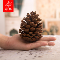Huachi Christmas decorations pinecone pinecone racket photography props Christmas tree decoration ornaments