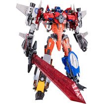 Transformers Wu soul calculation kings wind flame thunder waterfall shock electric lock alloy car human robot leader.