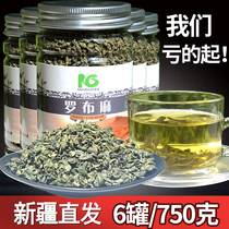 Hair 6 cans 750g apocynum Xinjiang authentic authentic apocynum tea Wild health tea bulk premium tea