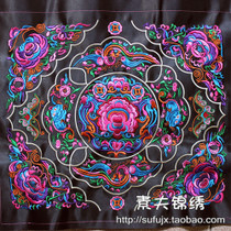 Yunnan ethnic characteristics machine embroidery embroidery pieces national artwork Miao embroidery abroad to send foreign gifts