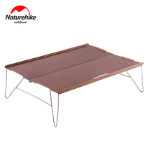 NH move customers outside the ultra-lightweight aluminum alloy folding table wild mountaineering camping mini table tea table