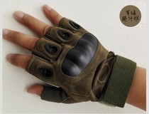 New ultra-fibre anti-slip Kirin whip half-finger boxing sports outdoor tactical army fan martial arts training gloves