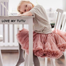 Autumn and winter tutu tutu skirt girls skirts baby childrens birthday princess skirt short skirt yarn skirt dress skirt