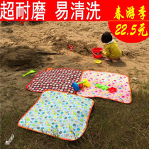 (Every day special)outdoor waterproof oxford cloth student small picnic mat moisture-proof cushion childrens environmental spring travel