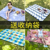 Outdoor tide pad picnic picnic cloth ins wind waterproof outdoor portable picnic lawn mat