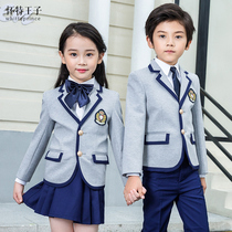 Kindergarten clothing primary school uniforms college wind spring and autumn suits Children British wind class clothes small suit uniform
