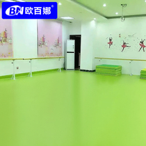 Oubina kindergarten gum indoor dance room dedicated non-slip pvc plastic floor dance classroom mat
