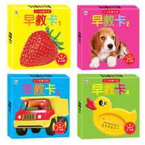 Newborn infants early childhood visual stimulation card baby figure cognitive color flash card enlightenment toys 0-6 months