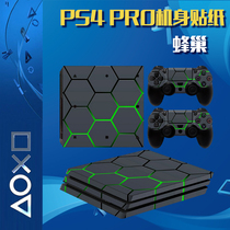 PS4 PRO STICKER BODY STICKER PS4 NEW VERSION OF PR0 PAIN MACHINE PATCH FILM COLOR RELEASE HANDLE STICKER