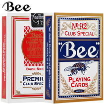 Small bee playing cards United States imported no 92 Bee card Pak