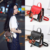 European Station INS Super fire genuine backpack female small bag wild leather handbag retro British tide