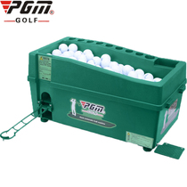 Golf ball machine indoor training device semi-automatic training device driving range large capacity multi-purpose ball box