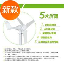 Outdoor marine DC small wind turbine 300W400W500W  new products  scenery complementary 12V2.