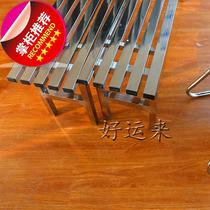 All-stainless steel player field rest chair kk player bench stainless steel