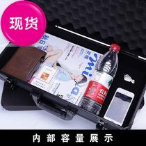 Handheld g aluminum alloy cryptonage toolbox instrument equipment box home multi-functional large medium a4.