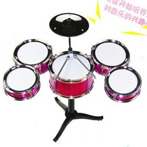 Small drum Big childrens toys drum player guitar beat manual drum plate convenient old female model single soy