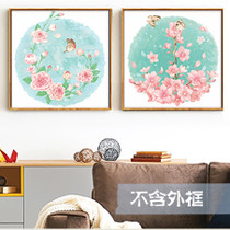 DIY digital oil painting landscape cartoon anime living room bedroom hand-painted coloring flower paint painting decorative painting handmade