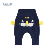 Baby pants boys PP pants spring and autumn baby belly pants small childrens big ass pants pants new spring high waist pants
