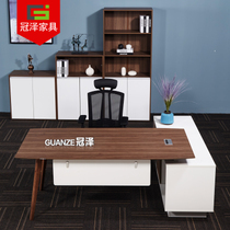 Modern office table manager table boss table new Chinese Desk President table desk simple modern