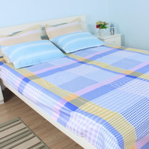 Elegant home textile domestic sales low preferential bed cotton twill single student sheets 160 * 210