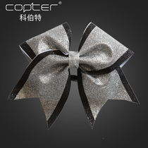 Cheerleader Wheelbarrow Hair decorations cheerleading head Flower Bow match