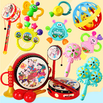 Baby toys 3-6-12 months newborn rattle 0-1 years old baby puzzle early childhood toddler hand rattle gutters