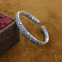 999 sterling silver men and women couple models Sun Wukong great sage golden hoop opening spell bracelet