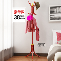 Open Di European style coat rack bedroom hanger iron floor assembly clothes rack hanger fashion creative clothes rack