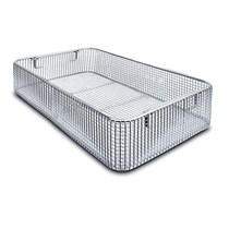 Supply room basket surgical instruments disinfection basket box disinfection blue box net basket hospital stainless steel disinfection basket