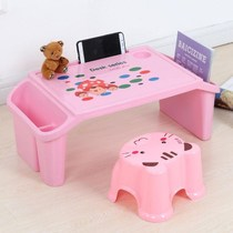 Table children learn home desks baby children multi-functional childrens plastic tables and chairs a set of toy tables