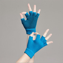 Yoga Gloves Female Non-Slip Aerial Pilates Dispensing Cotton Exercise Fitness Gloves