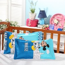 Childrens pillow 3-6 years old kindergarten anti-mite pillow pupils cotton 1-3-10 years old cartoon cotton Nap Pillow