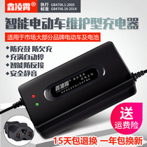 Electric car battery charger 48V12AH20AH60V72 volt New Day Aimar Yadi tram tricycle GM