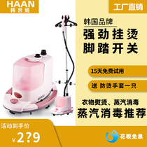 South Koreas Han Kyung-ji home hand-held vertical iron iron iron iron clothes disinfection haan steam ironing machine