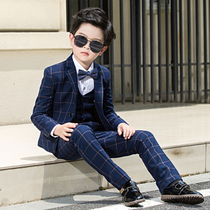 2388aed2 High-end dress spring and autumn piano children small suit Boy presided  over the small