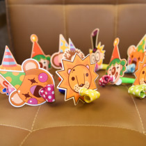 Birthday party blowing blowing blowing Dragon cheer whistle Boy Girl Birthday Horn children creative cartoon whistle
