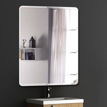 Mirror wall hanging wash basin on the mirror wall wall-style bathroom make-up large round wall self-adhesive one-sided