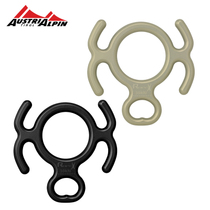 Austrialpin rope drop Horn eight character ring descender 8 word protector climbing equipment rope drop Austrian production