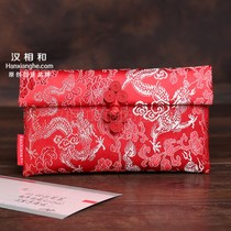 Red bags million yuan wedding creative cloth red envelopes personalized wedding gift package creative high-grade red envelopes 2020 new