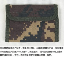 Camouflage Wallet Outdoor canvas sports multifunctional waterproof wear-resistant Nylon Wallet Card pack