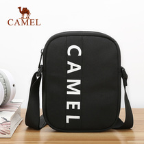 Camel mens shoulder bag oxford cloth bag wild fashion bag casual messenger bag Korean youth tide