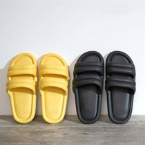 The new EVA bathroom slippers women summer home indoor non-slip soft thick bottom couple bath sandals men and women.