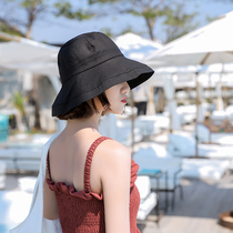 (Owner to stay) fisherman hat female spring and summer travel sun hat sunscreen Japanese art wild hat female Korean version