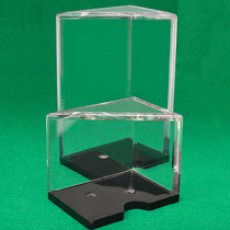 Texas Holdem rack poker Baccarat props transparent Acrylique rack poker