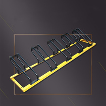 The new bicycle card position display rack manufacturers card-type parking rack lock parking space support customized