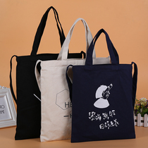 Canvas Bag Singles shoulder Bag canvas bag hand-painted custom logo bag custom shopping bag bag environmental bag